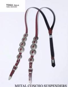 "Thumbnail of ""【新品未使用】TOGA PULLA METAL CONCHO SUSPENDER"""