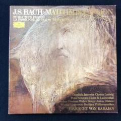"""Thumbnail of """"LPレコード4枚組バッハ マタイ受難曲BWV244カラヤン指揮ベルリンフィル管弦"""""""