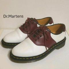 "Thumbnail of ""Dr.Martens RAFI サドルシューズ White×CherryRed"""