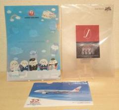 "Thumbnail of ""JAL クリアファイル しろたん ディズニー"""