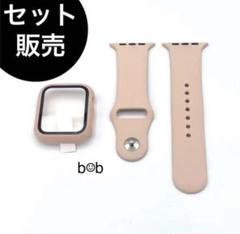 "Thumbnail of ""Apple watch アップルウォッチ カバー ケース+バンド ベルト ピンク"""
