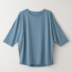 "Thumbnail of ""5分袖 Tシャツ タケフ takefu ターコイズ M~L"""
