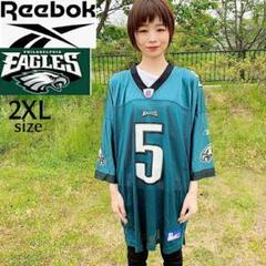 "Thumbnail of ""【NFL】Reebok ゲームシャツ 2XL イーグルス 緑 チームロゴベクター"""