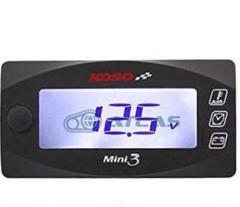 "Thumbnail of ""新品 koso mini3 電圧計 外気温計 時計 シグナス v125 pcx"""