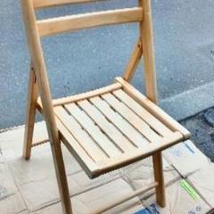 "Thumbnail of ""木製 折りたたみ椅子"""