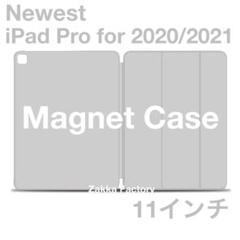 "Thumbnail of ""Gray iPad Pro 11インチ ケース 2020 2021 カバー 磁石"""