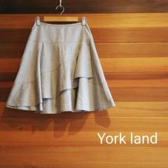 "Thumbnail of ""◇人気商品◇York land ヨークランド ひざ丈フレアスカート レイヤード"""