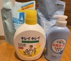 """Thumbnail of """"キレイキレイ DHC シーブリーズ ボディソープセット&ビオレuうるおいミルク"""""""