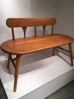 "Thumbnail of ""オールド コイズミ デザインベンチ、木製、モダンデザイン、椅子、チェア、モダン"""