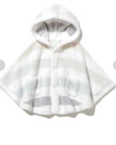 "Thumbnail of ""【BABY】'ベビモコ'5ボーダー baby ポンチョ"""