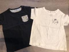 """Thumbnail of """"ユニクロTシャツ おそろい 90.100 色違い セット"""""""