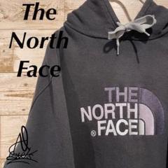"""Thumbnail of """"《デカロゴ》ノースフェイス North Face L☆ブラック 黒 刺繍ロゴ"""""""