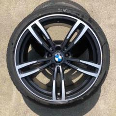"""Thumbnail of """"BMW 19インチアルミホイール マットブラック タイヤセット"""""""