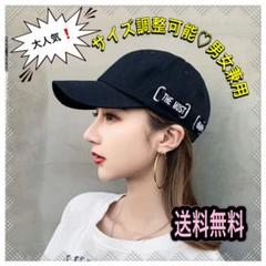 "Thumbnail of ""大人気♡ロゴキャップ☆ブラック シンプル メンズ レディース ストリート 韓国"""