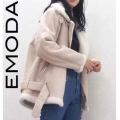 "Thumbnail of ""EMODA ボリューム フェイク ムートンライダース"""