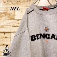 "Thumbnail of ""《Bengals》チームスウェット NFL XL☆グレー 灰色 刺繍ロゴ"""