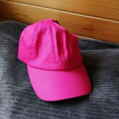 "Thumbnail of ""帽子 CAP キャップ レディース 野球帽 ピンク かわいい 無地 韓国風 新品"""