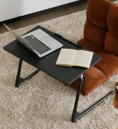"Thumbnail of ""デスク 座椅子専用デスク 昇降式テーブル 折りたたみ可能 角度調節可能"""