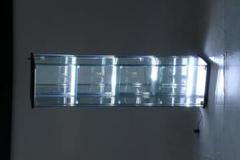 """Thumbnail of """"【送料無料】ガラスコレクションケース 4段(背面ミラー) LED"""""""