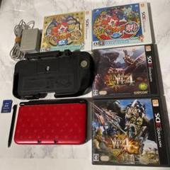 "Thumbnail of ""任天堂3DSLL本体、付属品、ソフト4本セット"""