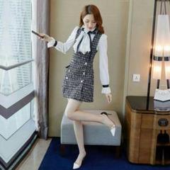 """Thumbnail of """"ストラップのワンピース子供服冬の新しいファッションの冬のスーツMn"""""""