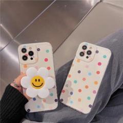 新品 フラワースタンド   iPhone11 ケース白色