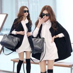 """Thumbnail of """"韓国ファッション ケープコート ポンチョコート ショールコート"""""""