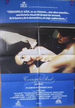 """Thumbnail of """"希少!デヴィッド・リンチ監督映画『ブルーベルベット』スペイン版オリジナルポスター"""""""