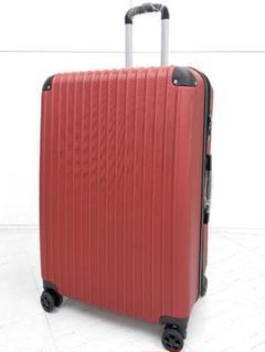 """Thumbnail of """"中型軽量スーツケース 8輪静音キャリーバッグ TSAロック付き Mサイズ ワイン"""""""