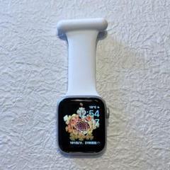 """Thumbnail of """"Apple Watch用 ナースウォッチ ピンバッチバンド 白"""""""