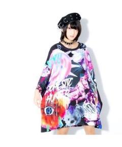 "Thumbnail of ""TRAVAS TOKYO☆Chaotic art Super BIG Tee"""