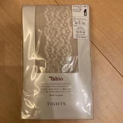 "Thumbnail of ""Tabio ラッセル サイドレース柄タイツ"""