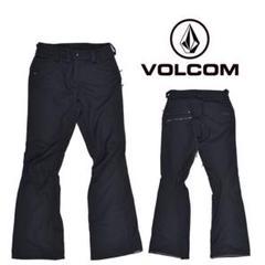 """Thumbnail of """"VOLCOM スノーボードウェア レディース パンツ ブラック"""""""