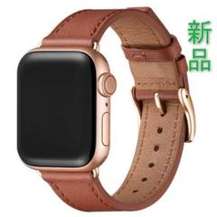 """Thumbnail of """"apple watch バンド ブラウン/ローズゴールド 42mm 44mm"""""""