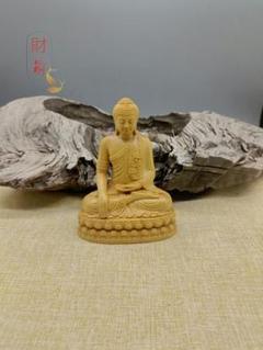 """Thumbnail of """"美品  釈迦如来 財前彫刻 仏壇仏像 法事 仏事 招福"""""""