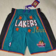 "Thumbnail of ""ジャストドンのショーツ1995NBAオールスターの緑のバスケットボールショー{"""