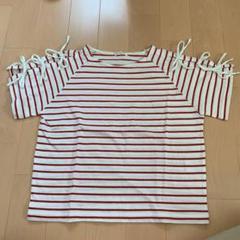 "Thumbnail of ""COLZA ボーダーカットソー 半袖Tシャツ S"""
