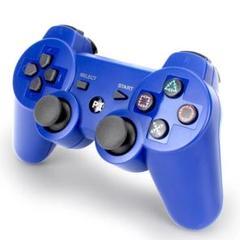 "Thumbnail of ""PS3 コントローラー ブルー 青色 互換品 Bluetooth ワイヤレス"""