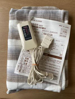 "Thumbnail of ""ナカギシ 電気毛布"""
