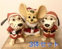 """Thumbnail of """"ビンテージ 70s トッポジージョ  クリスマス サンタクロース 3体 貯金箱"""""""