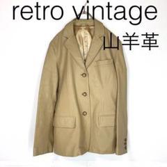 """Thumbnail of """"W2891*Vintage 山羊革 レザーコート ベージュ M"""""""