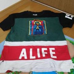 """Thumbnail of """"alife エーライフ ビッグロゴ Tシャツ ホワイト 白 M"""""""