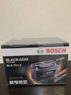 "Thumbnail of ""BOSCH (ボッシュ) 輸入車バッテリー ブラックAGM BLA-70-L3"""