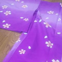 "Thumbnail of ""紫  桜 着物"""