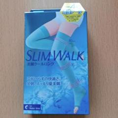 "Thumbnail of ""ピップ スリムウォーク 美脚クールロング S-M 着圧 SLIMWALK"""