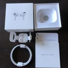 """Thumbnail of """"Apple AirPods Pro空箱+ケーブル+イヤーチップ"""""""