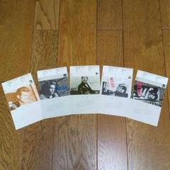 """Thumbnail of """"ジェームス・ディーンカセットケースインディックスカード5枚set。"""""""