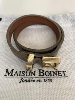 "Thumbnail of ""MAISON BOINET レザーブレス"""