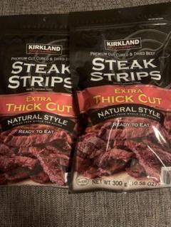 """Thumbnail of """"カークランド  STEAK STRIPS ビーフジャーキー"""""""