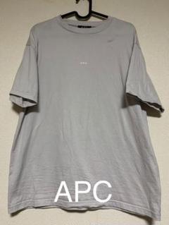 "Thumbnail of ""APC グレー ロゴ tシャツ"""